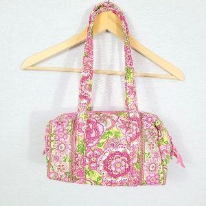 Vera Bradley Petal Pink Duffel Shoulder Bag